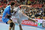 Igor Vori vs Mikkel Hansen. DENMARK vs CROATIA: 30-24 - Semifinal