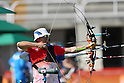 Takaharu Furukawa (JPN), <br /> AUGUST 1, 2016 - Archery : <br /> Official training <br /> at Sambodromo <br /> during the Rio 2016 Olympic Games in Rio de Janeiro, Brazil. <br /> (Photo by YUTAKA/AFLO SPORT)