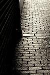 July 2009:  A rainy day sidewalk in historic Biltmore Village, North Carolina.