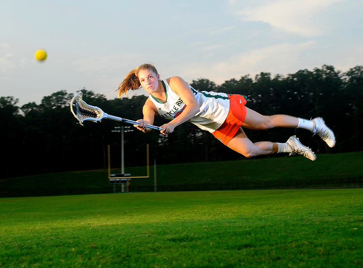 2015 Kettle Run Female Athlete of the Year Morgan Rodgers excelled at lacrosse, graduating with over 100 goals for her career.