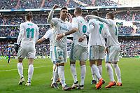 REAL MADRID v DEPORTIVO ALAVES. LA LIGA 2017/2018. ROUND 25.
