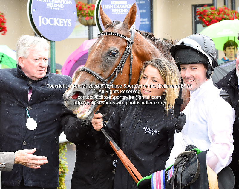 Scenes from around the track on Irish Champions Weekend on September 13, 2015 at the Curragh Racecourse in Leopardstown, Dublin, Ireland.  (Bob Mayberger/Eclipse Sportswire)