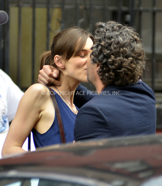 WWW.ACEPIXS.COM....July 19 2012, New York City....Actors Keira Knightley and Mark Ruffalo on the set of the new movie 'Can a Song Save Yor Life' on July 19 2012 in New York City....By Line: Curtis Means/ACE Pictures......ACE Pictures, Inc...tel: 646 769 0430..Email: info@acepixs.com..www.acepixs.com