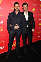 HOLLYWOOD, CA - JANUARY 08: Singer/actor Ricky Martin and Jwan Yosef attend the Premiere Of FX's 'The Assassination Of Gianni Versace: American Crime Story' at ArcLight Hollywood on January 8, 2018 in Hollywood, California.<br /> CAP/ROT/TM<br /> &copy;TM/ROT/Capital Pictures
