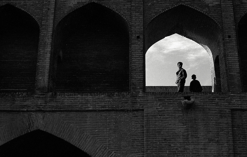Esfahan, Iran, January 2006. Photo: Ed Giles.