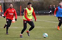 Carlos Salcedo (Eintracht Frankfurt) und Marco Fabian (Eintracht Frankfurt) - 06.03.2018: Eintracht Frankfurt Training, Commerzbank Arena