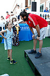Spanish basketball player Ricky Rubio shares his knowledge of basketball with the children in II Campus Ricky Rubio of Brains International Schools. July 10, 2018. (ALTERPHOTOS/Acero)