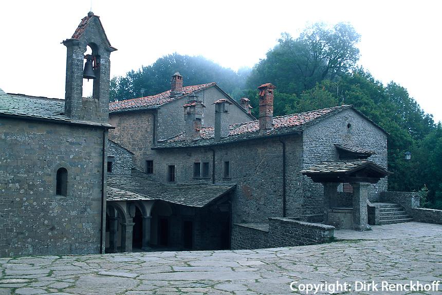 Italien, Toskana, Kloster La Verna