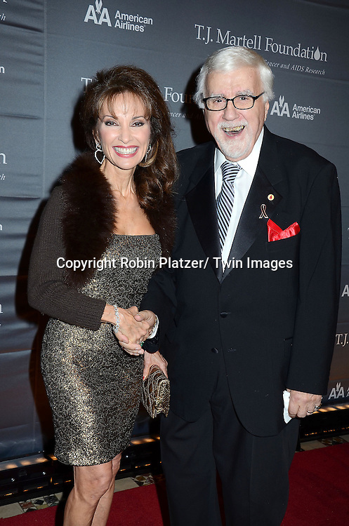 Susan Lucci and Tony Martell attend The 37th Annual TJ Martell Foundation Honors Gala on October 23, 2012 at Cipriani 42nd Street in New York City. The foundation is for Leukemia, Cancer and AIDS Reserarch.