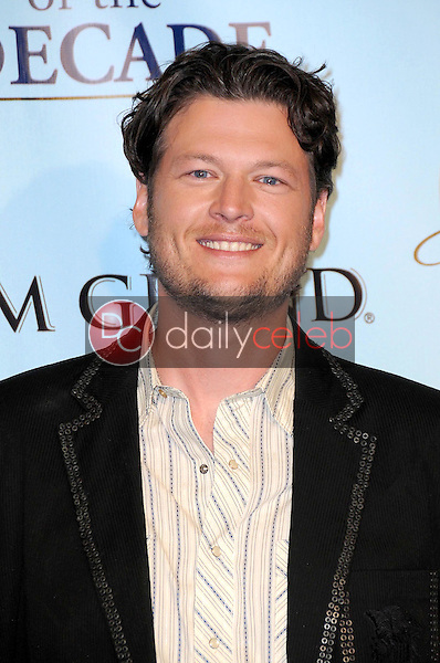 Blake Shelton<br />in the press room at the Academy Of Country Music Awards' Artist Of The Decade. MGM Grand, Las Vegas, NV. 04-06-09<br />Dave Edwards/DailyCeleb.com 818-249-4998