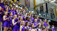 Stony Brook defeats UAlbany  69-60 in the America East Conference tournament quaterfinals at the  SEFCU Arena, Mar. 3, 2018.  Albany pep band.