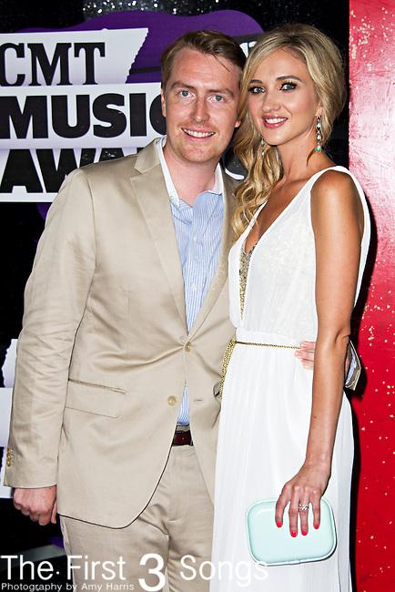 Sarah Darling arrives at the 2013 CMT Music Awards at Bridgestone Arena in Nashville, Tennessee.