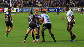 8th September 2017, The Mend-A-Hose Jungle, Castleford, England; Betfred Super League, Super 8s; Castleford Tigers versus Leeds Rhinos; Castleford team warm up