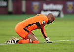 West Ham's Darren Randolph looks on dejected after Arsenal's opening goal during the Premier League match at the London Stadium, London. Picture date December 3rd, 2016 Pic David Klein/Sportimage