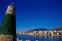 Benalmádena marina and town,Costa del Sol, Andalucia,Spain
