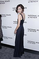 NEW YORK, NY - JANUARY 9: Allison Williams at The National Board of Review Annual Awards Gala at Cipriani 42nd Street on January 9, 2017 in New York City. <br /> CAP/MPI99<br /> &copy;MPI99/Capital Pictures