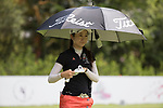 Golfer Yunjie Zhang of China during the 2017 Hong Kong Ladies Open on June 9, 2017 in Hong Kong, China. Photo by Chris Wong / Power Sport Images