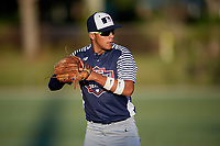 Alec Gonzalez during the WWBA World Championship at the Roger Dean Complex on October 20, 2018 in Jupiter, Florida.  Alec Gonzalez is a shortstop from Flossmoor, Illinois who attends Marian Catholic High School and is committed to Tennessee.  (Mike Janes/Four Seam Images)