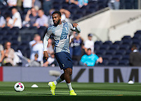 Danny Rose of Tottenham Hotspur warms up before during the Premier League match between Tottenham Hotspur and Crystal Palace at Wembley Stadium, London, England on 14 September 2019. Photo by Vince  Mignott / PRiME Media Images.