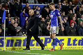 4th December 2017, St. Andrews Stadium, Birmingham, England; EFL Championship football, Birmingham City versus Wolverhampton Wanderers; Harlee Dean of Birmingham City is sent off and walks to the dressing room in the 83rd minute for a second yellow
