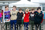 at the SPA National School Donal Walsh 6K Walk/Run Challenge on Sunday were Dylan Walsh, Ben Donlan, Harry Brosnan, Donagh Stevenson, Alex Hoare, Brian Lenihan