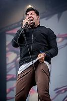 Deftones paa Helviti. Copenhell 2018 p&aring; Refshale&oslash;en i K&oslash;benhavn. Fire dage med rock, metal og dedikerede fans.<br /> <br /> Copenhell 2018 on Refshale Island in Copenhagen. Four days of rock, metal and dedicated fans.<br /> <br /> Foto: Jens Panduro<br /> <br /> Copenhagen, Copenhell, musikfestival, festival, musik, rockmusik, metal, hardcore, thrashmetal, punk, punkrock, metalcore, Refshale&oslash;en, Reffen, koncerter, rockkoncerter., Music Festival, Music, Rock Music, Thrash Metal, Refshale Island, Concerts, Rock Concerts.