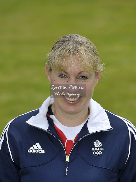 Fiona Bigwood, age 40, based West Sussex, with Penny Bigwood and Neils and Lis Dahl's Atterupgaards Orthilia. TeamGB announce the equestrian team for the Rio2016 Olympics. The old bull pen. Chippenham. Wiltshire. UK. 05/07/2016. ~ MANDATORY CREDIT Garry Bowden/SIPPA - NO UNAUTHORISED USE - +447837 394578