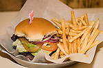 Hamburger & French Fries, BLT Burger, Greenwich Village, New York