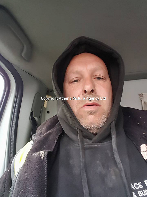 """Pictured: Ian Cottle<br /> Re: A rogue builder, described as having a """"blatant disregard for safety"""" made nearly £30,000 from clients he left with work, well below standard. <br /> Cardiff Crown Court heard it cost his customers thousands of pounds to sort out the shoddy work and mess from ACE Plastering and Building Services Limited run by Ian Cottle.<br /> Judge Neil Bidder QC told the defendant: """"All you wanted was the consumers' cash.""""<br /> The offending occurred between July 2015 and August 2016 and included work of cement-stained windows, peeling paint and falling down walls.<br /> Cottle used advertisements for his business in local papers The Barry Gem and Barry and District News.<br /> The defendant claimed he was City and Guilds qualified, as well as being fully insured – which was not true."""