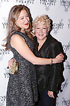 Sophie von Haselberg and mom Bette Midler attend the Off-Broadway opening Night Performance After Party for 'Billy & Ray' at the Vineyard Theatre on October 20, 2014 in New York City.