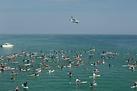 Yancy Spencer III Memorial Paddle Out  on Pensacola Beach in Pensacola Fla.