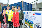 Launching the first phase of the regeneration of the Island of Geese  site were, The Economic Development Unit l-r  Lisa Fanning, Barry Hennebry, Declan O'Malley, Jeremy Murphy and Noreen O'Mahony