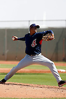 Jose Campos - Cleveland Indians 2009 Instructional League. .Photo by:  Bill Mitchell/Four Seam Images..