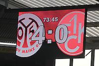 Spielstand 4:0 im Derby