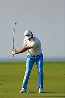 Brandon Stone (RSA) during the first round of the NBO Open played at Al Mouj Golf, Muscat, Sultanate of Oman. <br /> 15/02/2018.<br /> Picture: Golffile   Phil Inglis<br /> <br /> <br /> All photo usage must carry mandatory copyright credit (&copy; Golffile   Phil Inglis)