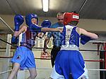 Gerry McDonagh Tredagh boxing club and Ben Lynham St. Cianans Boxing club. Photo:Colin Bell/pressphotos.ie