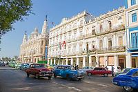 HAVANA, CUBA, 23.07.2015 –  Vista da avenida Paseo del Prado na cidade de Havana em Cuba.(Foto: Paulo Lisboa/Brazil Photo Press)