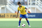 10 November 2013: Cristiane (BRA). The United States Women's National Team played the Brazil Women's National Team at the Citrus Bowl in Orlando, Florida in an international friendly soccer match.