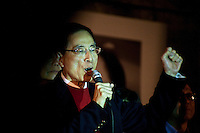 "Martin Lee also called the Hong Kong's ""father of democracy"" and the most hated by chinese government, during a rally organized after the resignation of five members of the pan-democrats, january 27 2010 evening, asking for ""democracy now !"". Lee is banned from visiting the mainland China because of his role in leading protests in Hong-kong after Tiananmen 1989 events. This 70 years old politician has fought for electoral freedom, he is now retired but stays a reference for democrats who have acclaimed him a long time during his speech this 01/27."