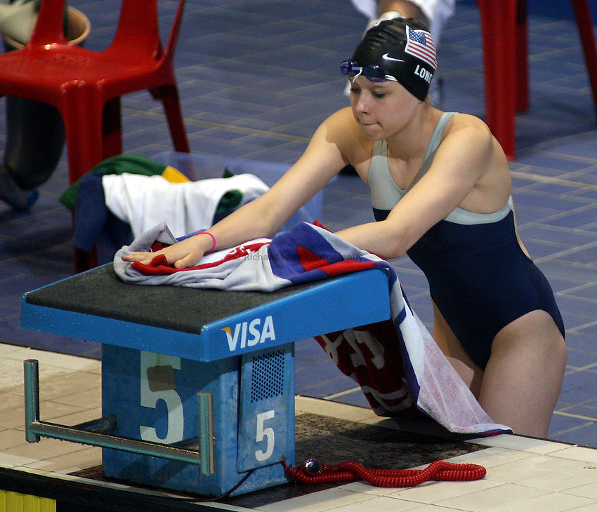 Photo: Paul Thomas..VISA Paralympic World Cup 2007. Swimming. 12/05/2007...Jessica Long of the USA.