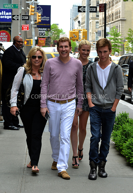 ACEPIXS.COM<br /> <br /> May 14 2014, New York City<br /> <br /> (L-R) Reality TV stars Julie Chrisley,Todd Chrisley, Savannah Chrisley and Chase Chrisley go for a walk in Soho on May 14 2014 in New York City<br /> <br /> By Line: Curtis Means/ACE Pictures<br /> <br /> ACE Pictures, Inc.<br /> www.acepixs.com<br /> Email: info@acepixs.com<br /> Tel: 646 769 0430