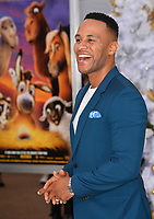 DeVon Franklin at the world premiere for &quot;The Star&quot; at the Regency Village Theatre, Westwood. Los Angeles, USA 12 November  2017<br /> Picture: Paul Smith/Featureflash/SilverHub 0208 004 5359 sales@silverhubmedia.com