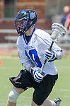 Orange, CA 05/17/14 - Jesse Gilbert (Grand Valley State #10) in action during the 2014 MCLA Division II Men's Lacrosse Championship game between Grand Valley State University and St John University at Chapman University in Orange, California.  Grand Valley Defeated St John 12-11.