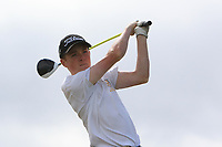 Fionn Hickey (Muskerry) on the 10th tee during the Final round in the Connacht U16 Boys Open 2018 at the Gort Golf Club, Gort, Galway, Ireland on Wednesday 8th August 2018.<br /> Picture: Thos Caffrey / Golffile<br /> <br /> All photo usage must carry mandatory copyright credit (&copy; Golffile   Thos Caffrey)