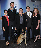 06 November  2017 - Los Angeles, California - Reid Carolin, Trent McDonald, Layka, Channing Tatum, Deborah Scranton. &quot;War Dog: A Soldier's Best Friend&quot; Los Angeles premiere held at Director's Guild of America in Los Angeles. <br /> CAP/ADM/BT<br /> &copy;BT/ADM/Capital Pictures