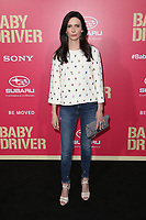"""LOS ANGELES, CA June 14  Bitsie Tulloch, At Premiere Of Sony Pictures' """"Baby Driver"""" at The Ace Hotel, California on June 143, 2017. Credit: Faye Sadou/MediaPunch"""