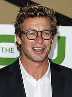 BEVERLY HILLS, CA - JULY 29: Simon Baker attends the CBS, Showtime, CW 2013 TCA Summer Stars Party at 9900 Wilshire Blvd on July 29, 2013 in Beverly Hills, California. (Photo by Celebrity Monitor)