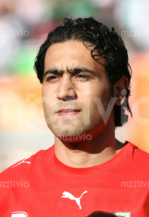 FussballInternational WM 2006 Vorrunde Mexiko-Iran Mehdi Mahdavikia (IRN)
