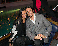 LAS VEGAS, NV - November 20 : Gilles Marini with his wife Carole pictured as The Venetian and The Palazzo kick off 2nd annual Winter in Venice on November 20, 2012 at The Venetian in Las Vegas, Nevada.  Credit: Kabik/ Starlitepics / MediaPunch Inc.