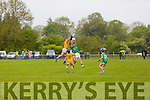 Action from St. Kieran's Philip O'Connor and Captain  Seamus Scanlan and Feale's Damien Summers and Sean T Dillon  in the Senior County Championship St. Kierans V Feale Rangers at the Cordal GAA Ground on Saturday